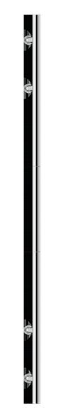 Edelstahl LED Beleuchtung 1600mm