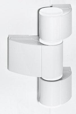 Dreiteilige Designtürbänder Haustüren-Sicherheit