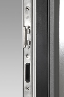 Schliessleiste aus Edelstahl Haustüren-Sicherheit