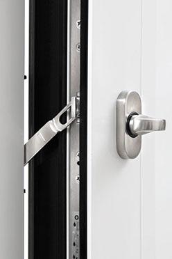 Integrierter Sperrbügel Haustüren-Sicherheit