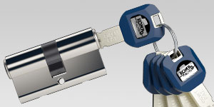 Kaba experT Profilzylinder Haustüren-Sicherheit