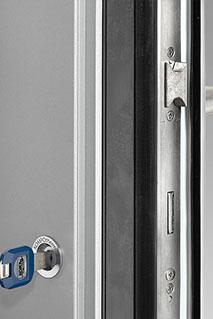 Riegel und Falle Haustüren-Sicherheit