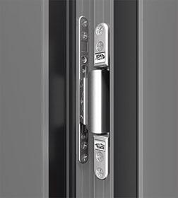Verdecktliegendes Türband Haustüren-Sicherheit