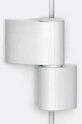Zweiteilige Designtürbänder Haustüren-Sicherheit