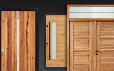Haustüren Holz-Oberfläche