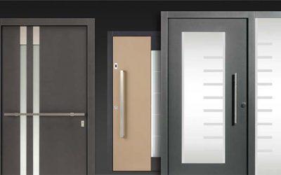 Haustüren mit Lack Oberfläche