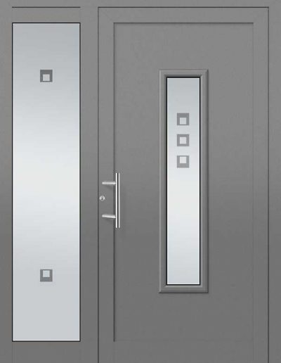 Moderne Aluminium Haustüren Seitenteile