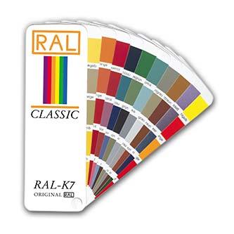 RAL K7 Classic Fächer