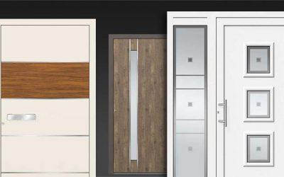 Moderne Aluminium-Haustüren