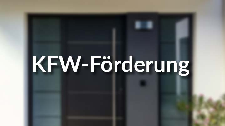 KFW-Förderung für Haustüren